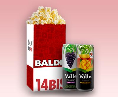 Balde + 2 Sucos Lata