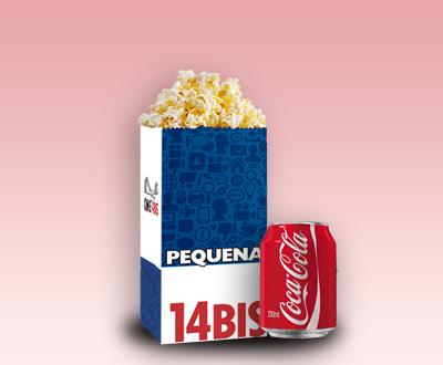 Pequena + Coca-Cola 250ml