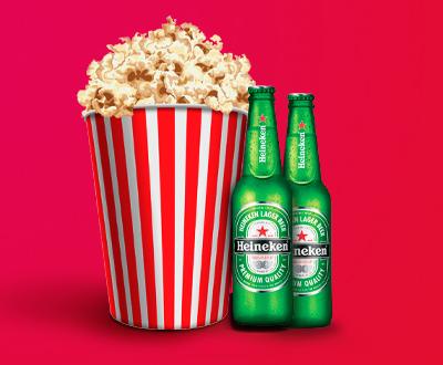 COMBO 6 (Balde + 2 Heineken)
