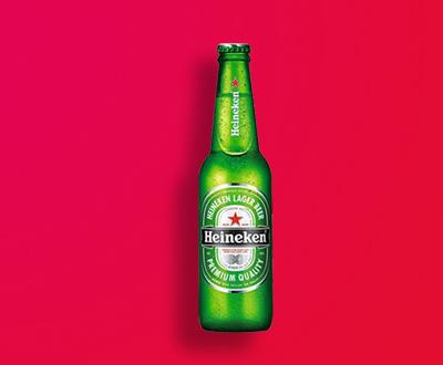 Cerveja Heineken (apenas maiores de 18 anos)